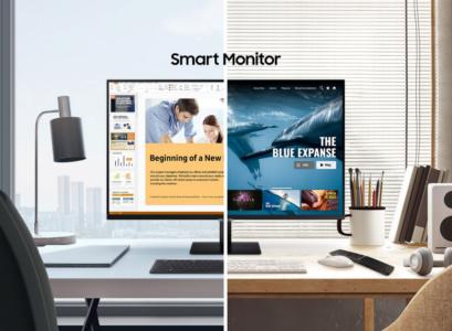 Монитор Samsung Smart Monitor, сочетающий функции ТВ и ПК, на пути в Украину