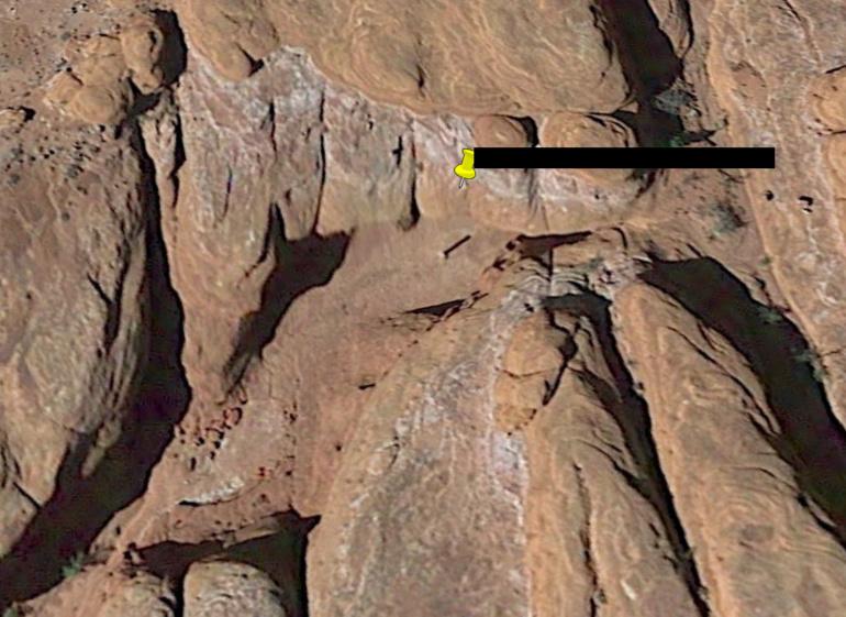 Месторасположение таинственного монолита в штате Юта выявили с помощью Google Earth