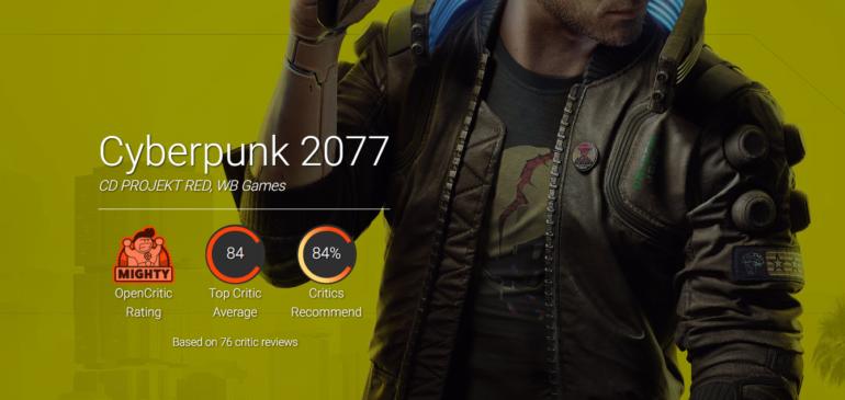 Рейтинг ПК-версии Cyberpunk 2077 на Metacritic упал ниже 90 баллов