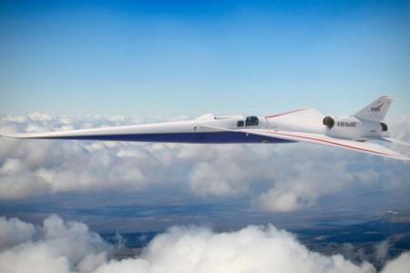 NASA и Lockheed Martin завершили работы над крылом «тихого» сверхзвукового самолета X-59