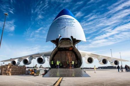 На фоне роста объемов грузоперевозок Авиалинии Антонова переводят Ан-225 «Мрия» на обслуживание коммерческих рейсов