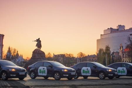 Bolt запустил в Киеве новую категорию такси Go для внепиковых часов со сниженными на 10% тарифами