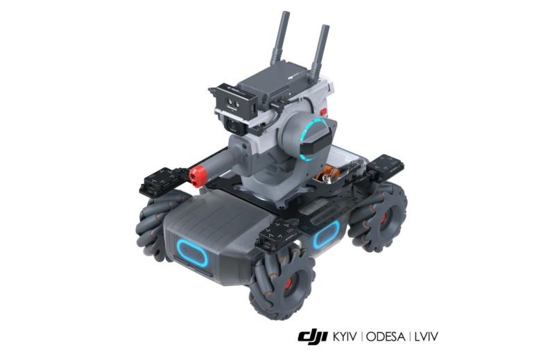 DJI | KYIV | ODESA | LVIV объявляют о начале продаж STEAM-робота Robomaster EP/EP Core в Украине