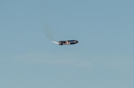 «Марс, мы идём». SpaceX провела успешные атмосферные испытания полноразмерного прототипа Starship — он взлетел на 12,5 км, спустился и развернулся хвостом вниз, но разбился при посадке