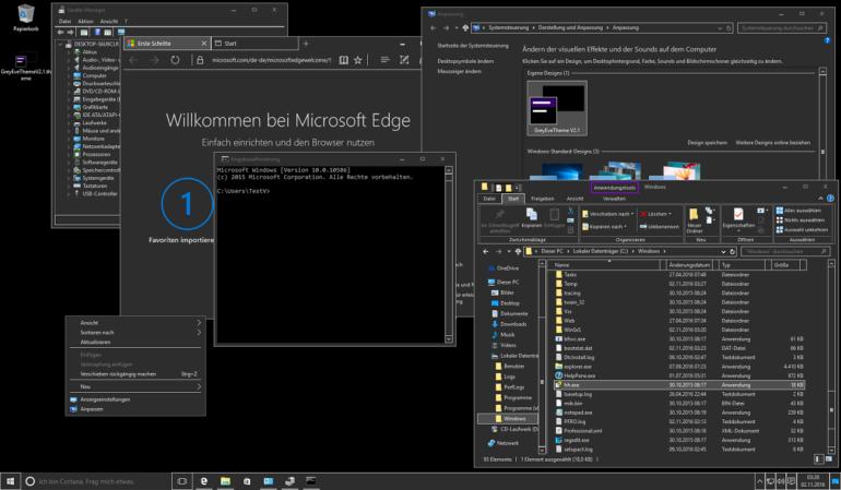 15 интересных тем для Windows 10