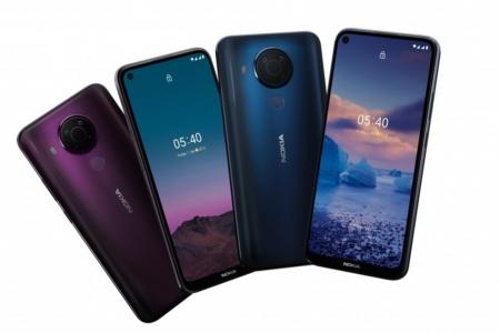 HMD Global представила среднебюджетную Nokia 5.4 на Snapdragon 662 за 189 евро и ультрабюджетную Nokia C1 Plus на Android 10 Go за 69 евро