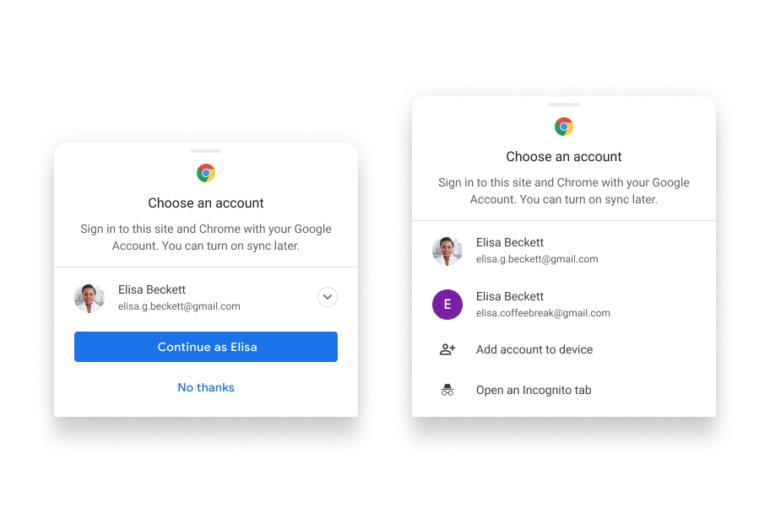 Google упрощает синхронизацию паролей и платёжных данных в Chrome при использовании различных устройств