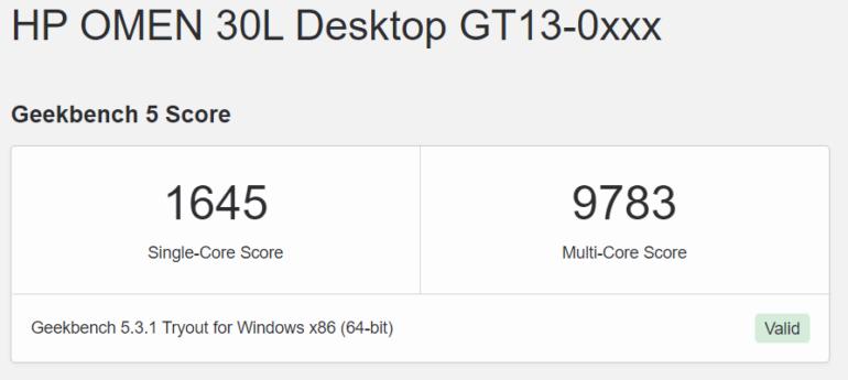 8-ядерный процессор Intel Rocket Lake-S в Geekbench демонстрирует производительность, сопоставимую с AMD Ryzen 7 5800X