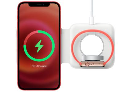 Беспроводное зарядное устройство Apple MagSafe Duo наконец поступило в продажу по цене $129