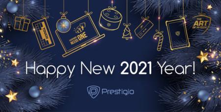 Новогодние подарки от Prestigio