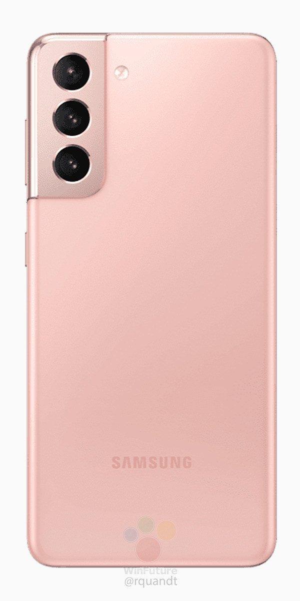 Galaxy S21: качественные рендеры будущих флагманов Samsung в новых цветах