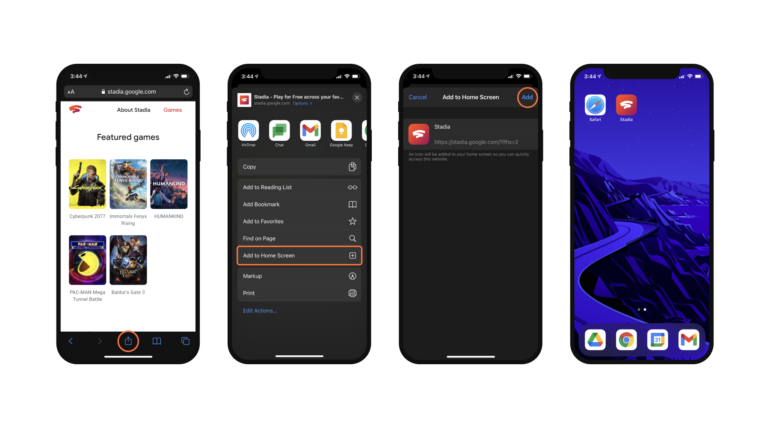 Cyberpunk 2077 на iPad. Google запустила стриминговый сервис Stadia на iOS через браузер Safari