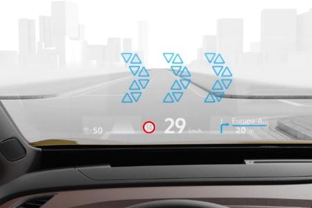 Как выглядит дисплей дополненной реальности AR-HUD электромобиля VW ID.3 в реальной жизни [видео]