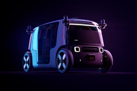 Приобретенный Amazon стартап Zoox представил автономное электрическое роботакси с батареей на 133 кВтч, которая позволяет использовать его 16 часов подряд