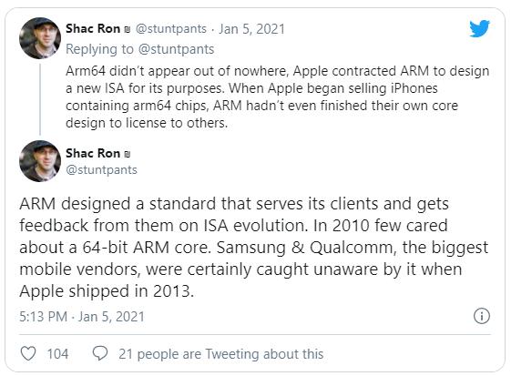 Бывший инженер Apple: путь к успеху ARM-процессоров M1 определили десять лет кропотливого труда