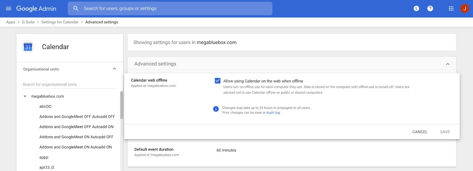 Веб-версия Google Calendar получила возможность работы оффлайн