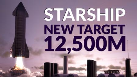 Трансляция полета Starship SN9 на высоту 12,5 км [Перенос]