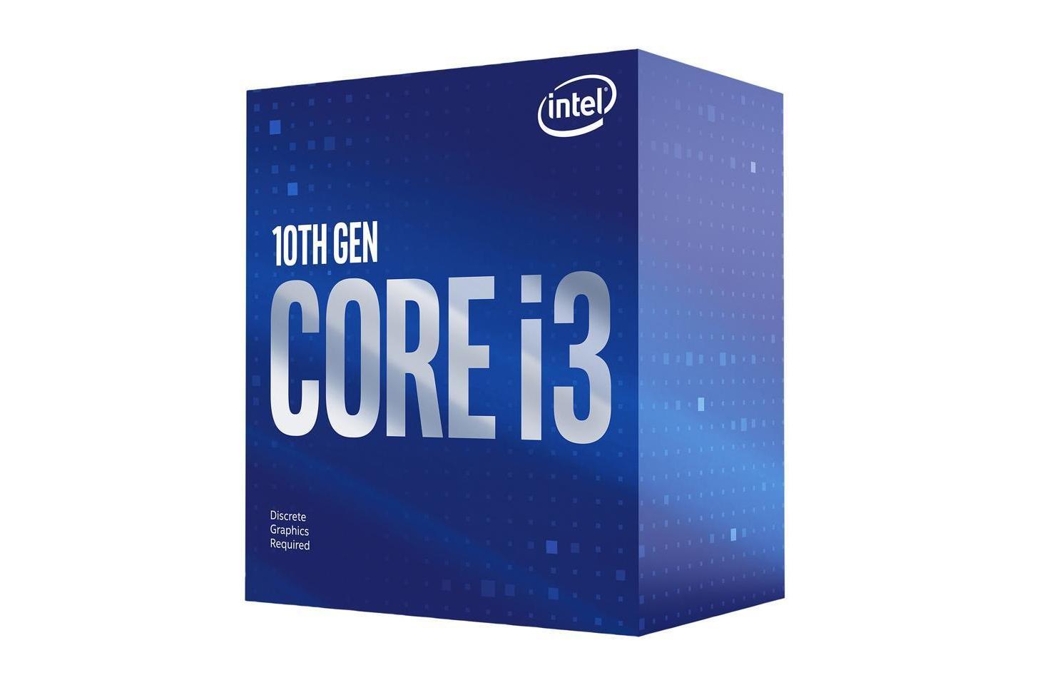 Core i3-10100F box