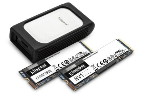 Kingston представил на CES 2021 накопители SSD со скоростью 7000 МБ/с и другие новинки