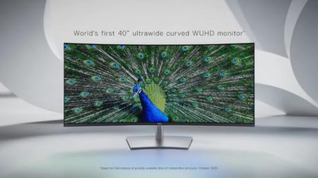 Dell анонсировала первый в мире 40-дюймовый изогнутый WUHD (21:9) монитор по цене $2100