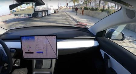 Видео: Автопилот Tesla FSD без помощи (ну, почти) водителя совершил поездку из Сан-Франциско в Лос-Анджелес