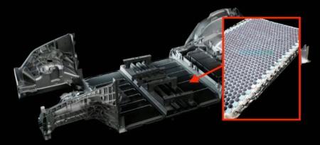 Первый взгляд на новый батарейный блок для будущих автомобилей Tesla
