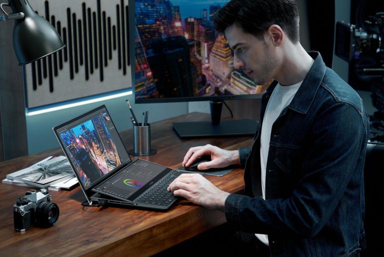 ASUS представила новые ноутбуки ZenBook, включая модели с двумя дисплеями, получившие награду CES 2021 Innovation Award