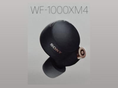 Утечка: беспроводные наушники Sony WF-1000XM4 получили обновлённый дизайн в духе Samsung Galaxy Buds Pro