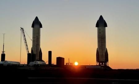 Трансляция полета Starship SN9 на высоту 10 км [Обновлено: прототип разбился при посадке]