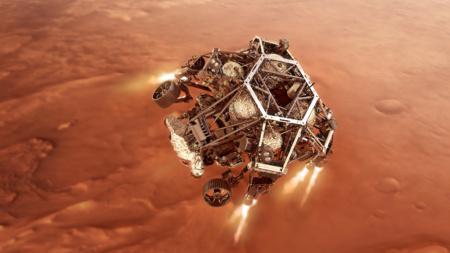«Cемь минут ужаса». Трансляция посадки ровера NASA Perseverance на Марс [Обновлено: Есть посадка!]