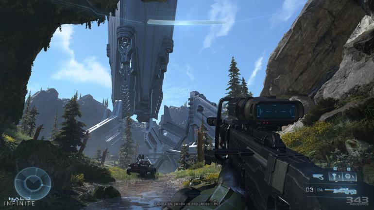 Игра Halo Infinite выглядит значительно лучше на новых скриншотах в разрешении 4K
