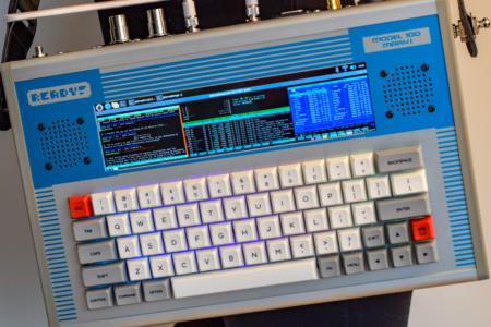 Ready! Model 100 — набор для создания собственного портативного PC