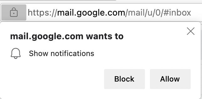 Браузер Microsoft Edge прекратит показывать запросы на демонстрацию уведомлений, если пользователи часто закрывают их
