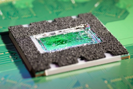 Подробные фото кристалла кастомного гибридного чипа PlayStation 5