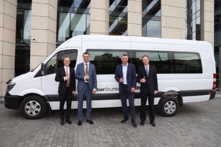 Uber запустив безкоштовну мережу Wi-Fi для всіх користувачів Uber Shuttle в Києві