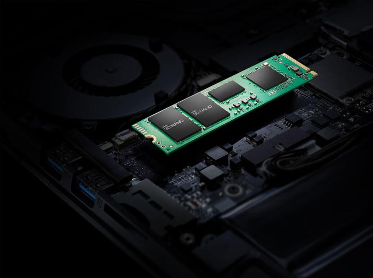 Intel выпустила массовые SSD серии 670p на базе 144-слойной флэш-памяти 3D NAND QLC