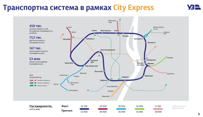 """""""Укрзалізниця"""" запустить модернізований приміський електропоїзд City Express на маршруті Святошин-Біличі-Ірпінь-Буча вже 15 березня"""