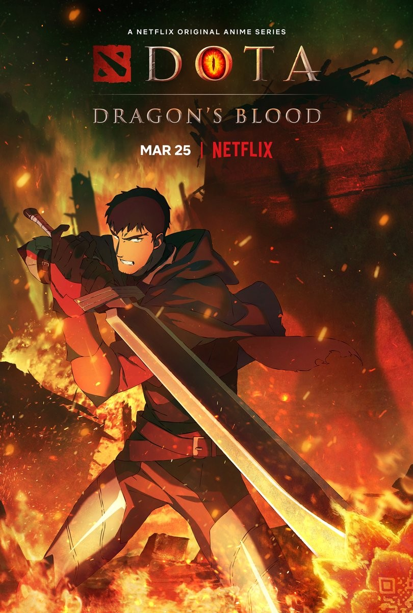 «DOTA: Кровь дракона» смотреть онлайн