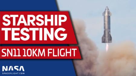 Обновлено: Испытания прототипа Starship SN11 завершились неудачей — он взорвался перед посадкой