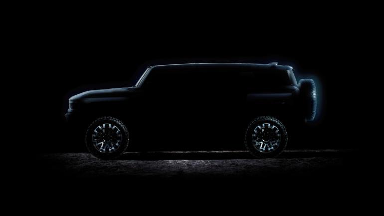 GMC показал зимние тесты электропикапа GMC Hummer EV и объявил дату анонса электрокроссовера GMC Hummer EV SUV (3 апреля 2021 года)