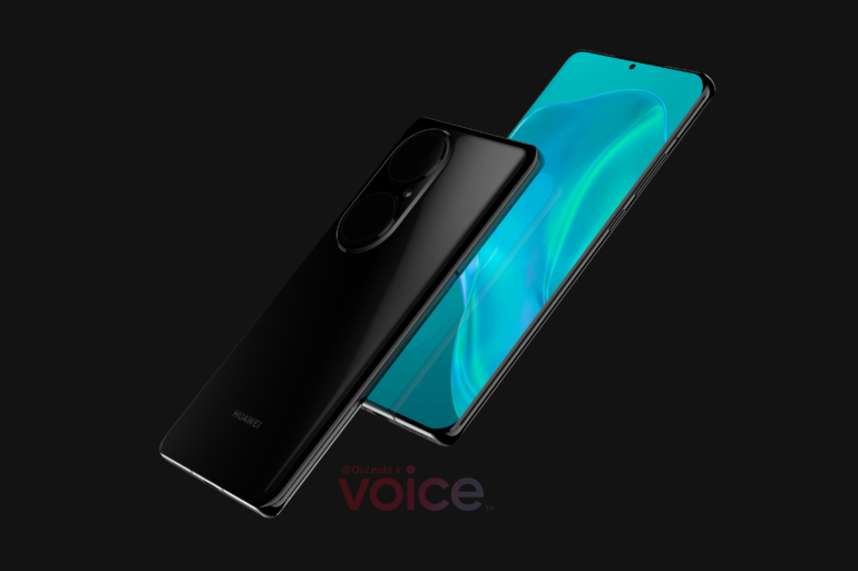 Первые рендеры Huawei P50 демонстрируют радикальное изменение дизайна