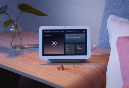 Google анонсировала новый Nest Hub с радаром Soli для отслеживания сна