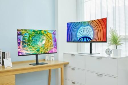 Samsung представила новую линейку мониторов для дома и офиса — всего 12 моделей диагональю от 24 до 34 дюймов и разрешением 1440p или 2160p