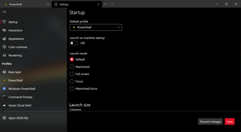 Microsoft выпустила Windows Terminal 1.6 и Windows Terminal 1.7 Preview с настройками пользовательского интерфейса