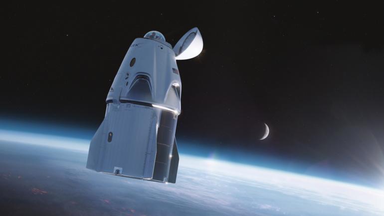 SpaceX планирует оснастить корабль Crew Dragon прозрачным куполом для наблюдения и фотографирования