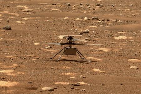 Обновлено: Первый полет марсианского вертолета Ingenuity перенесли на неделю