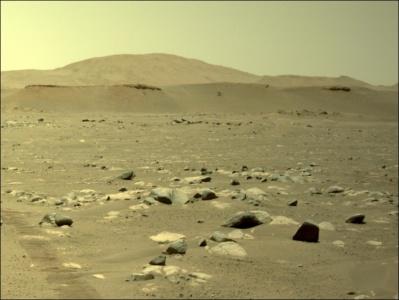 Вертолетный дрон «Индженьюити» совершил третий полет на Марсе — пролетел сто метров за 80 секунд, разогнавшись до 2 м/с