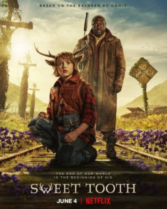Вышел полноценный трейлер фантастического сериала Sweet Tooth / «Сладкоежка» о постапокалиптическом мире с гибридами людей и животных