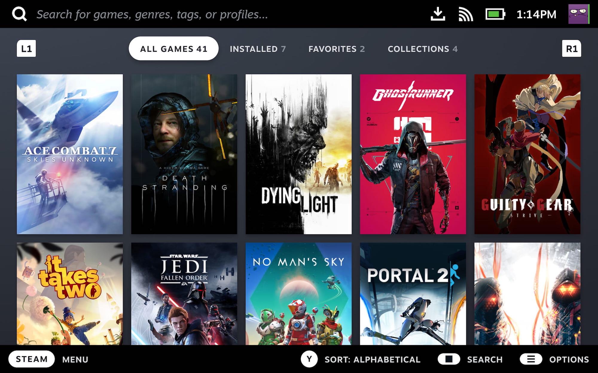 Valve заменит режим Big Picture интерфейсом Steam Deck