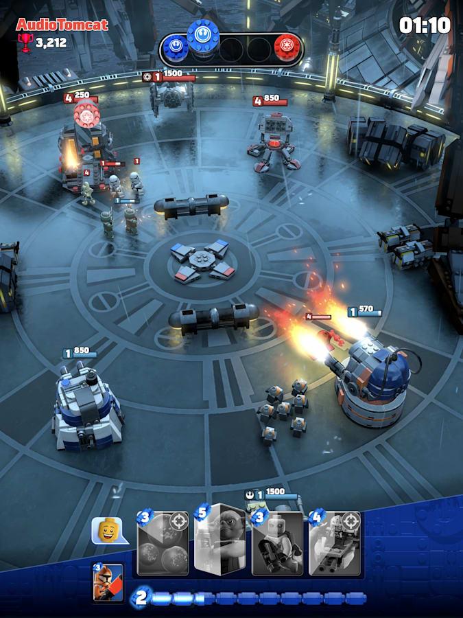 Apple Arcade получит эксклюзивную игру Lego Star Wars Battles